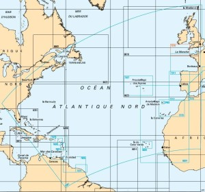 Europe-mers-d-Europe-Océan-Atlantique-Amérique-du-Nord