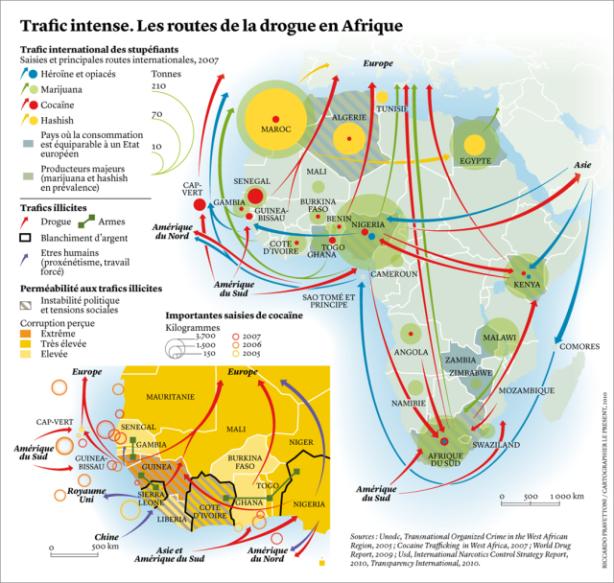 Carte trafics