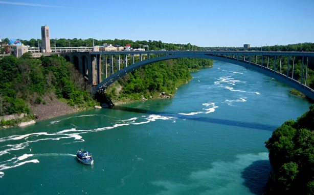 U.S. Customs and Border Protection says the car was driven across the Rainbow Bridge from Niagra Falls, Ontario to Niagra Falls, New York. (Photo: umich.edu)