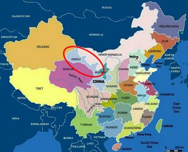 """Résultat de recherche d'images pour """"Gansu (nord-ouest)"""""""
