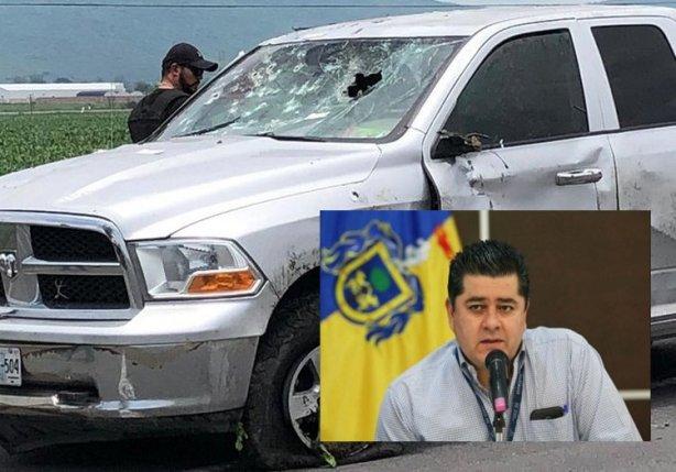 FOTOS, Con más de 200 balazos ejecutaron a Gonzalo Huitrón, fiscal regional de Jalisco, en una emboscada, dos escoltas heridos